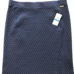 Michael Kors true navy skirt size XL